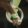 Olympic Games Rio 2016: detail hands at rings