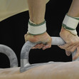 Olympic Games Rio 2016: hands at pommel horse