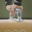 Olympic Games Rio 2016: detail hands at pommel horse