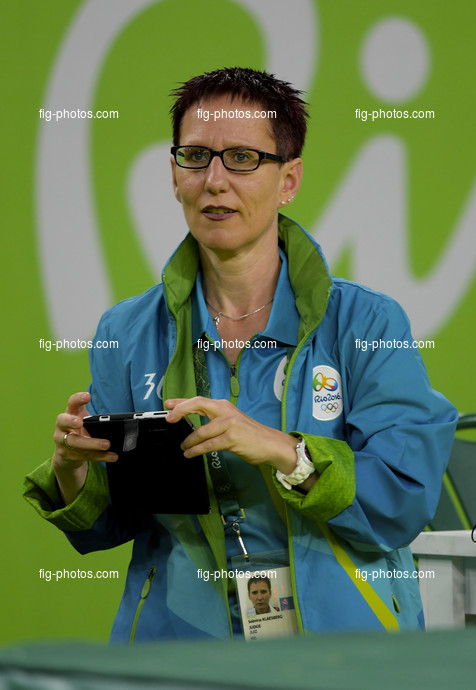 Olympic Games Rio 2016: KLAESBERG Sabrina/GER judge