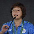 Olympic Games Rio 2016: KIM Nellie/FIG TC-president