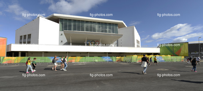 Olympic Games Rio 2016: Rio Olympic Arena outside