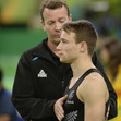 Olympic Games Rio 2016: SCHMIDT Dylan/NZL + coach