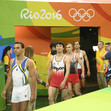 Olympic Games Rio 2016: entrance of participants