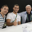 Olympic Games Rio 2016: AIT SAID Samir/FRA with sticks + GRANDI Prof. Bruno