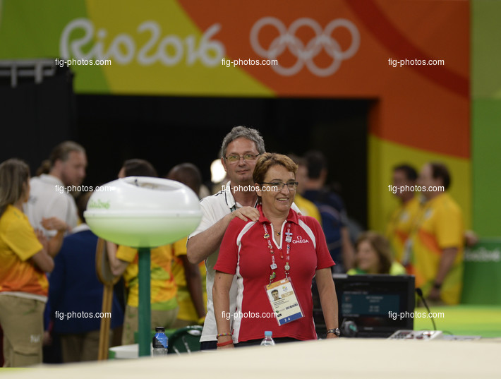 Olympic Games Rio 2016: COMBE DUTHEIL Patricia/OMEGA