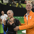 Olympic Games Rio 2016: WEVERS Sanne/NED + WEVERS Vincent (father) and coach
