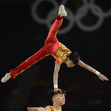 Olympic Games Rio 2016: FIG-Gala, acrobatic men's group CHN