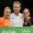 Olympic Games Rio 2016: FIG-Gala, WEVERS Sanne/NED + sister Lieke + father Vincent