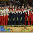 Olympic Games Rio 2016: group RUS + ESP + BUL