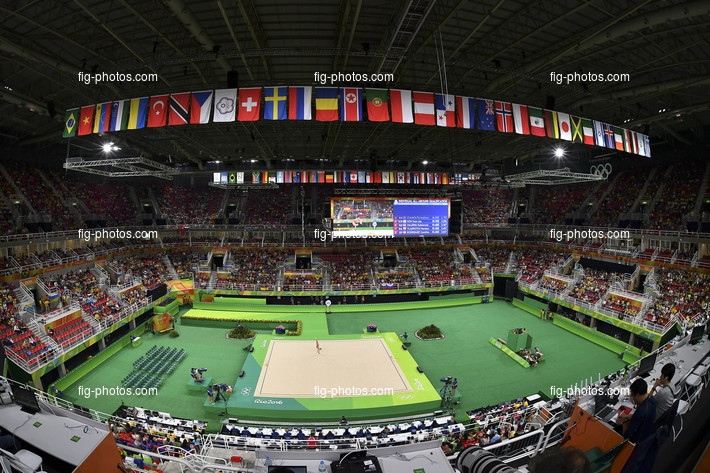 Olympic Games Rio 2016: Rio Olympic Arena overview RG