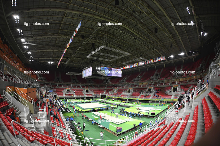 Olympic Games Rio 2016: Rio Olympic Arena overview