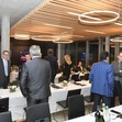 Inauguration FIG Office Lausanne/SUI 2016: Guests cafeteria