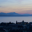 Overview from top of the building, lake Geneva
