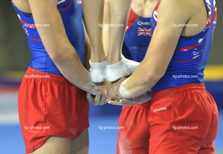 The World Games, Wroclaw/POL 2017: Acro detail hands + feet