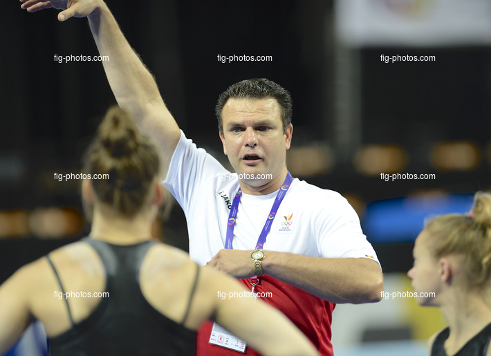 The World Games, Wroclaw/POL 2017: TRETYAKOV Sergey BEL coach