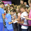 The World Games, Wroclaw/POL 2017: BLR giving autographs
