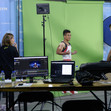 ART WCh Montreal/CAN: greenscreen studio