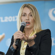 ART WCh Montreal/CAN: opening press conference, COMANECI Nadia