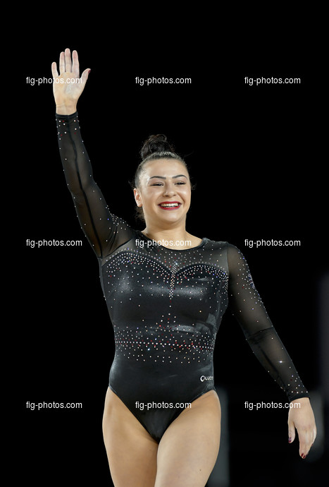 ART WCh Montreal/CAN: FRAGAPANE Claudia GBR
