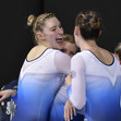 TRA WCh Sofia/BUL: team GBR celebrating