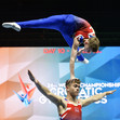 ACRO WCh 2018 Antwerp/BEL: podium training, MP GBR