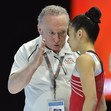 ACRO WCh 2018 Antwerp/BEL: podium training, USA WG + coach