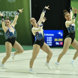 Aerobic WCh 2018 Guimaraes/POR: KEANE Niamh DONNELLY Kate AUGIER Renee GBR