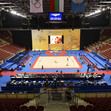 RG WCh Sofia/BUL 2018: Arena Armeec, FOP overview during podium training