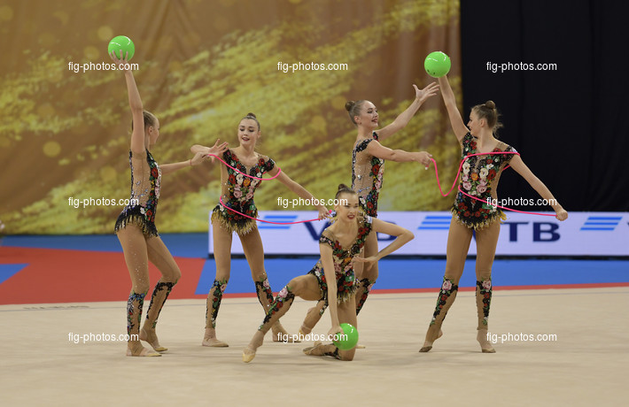 RG WCh Sofia/BUL 2018: group RUS