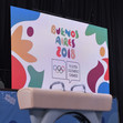 Youth Olympic Games Buenos Aires/ARG 2018: screen, America Pavilion