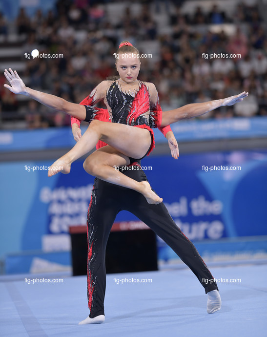 Youth Olympic Games Buenos Aires/ARG 2018: IMRIE-GALE Sophia GEMBICKAS Clyde GBR