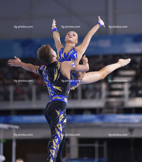 Youth Olympic Games Buenos Aires/ARG 2018: GEMBICKAS Clyde IMRIE-GALE Sophia GBR