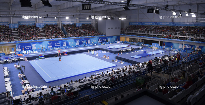 Youth Olympic Games Buenos Aires/ARG 2018: overview with spectators