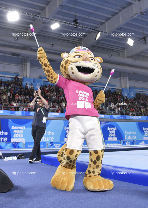 """Youth Olympic Games Buenos Aires/ARG 2018: mascot """"Pandi"""""""