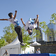 Youth Olympic Games Buenos Aires/ARG 2018: Parkour activities at URBAN Park