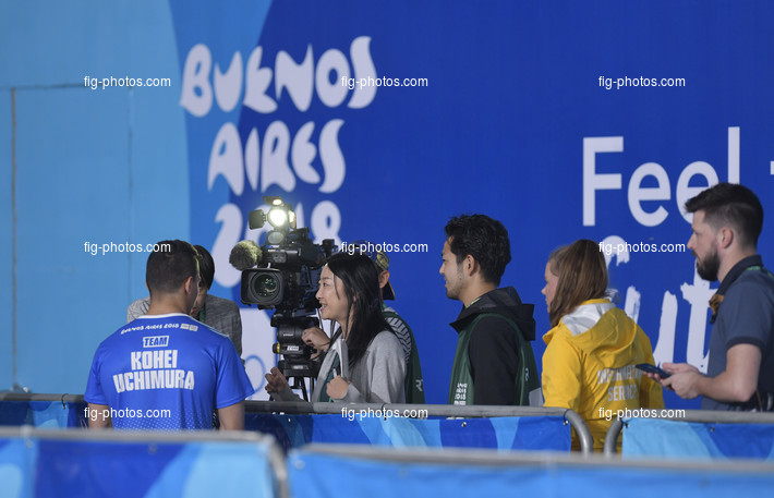 Youth Olympic Games Buenos Aires/ARG 2018: mixed zone