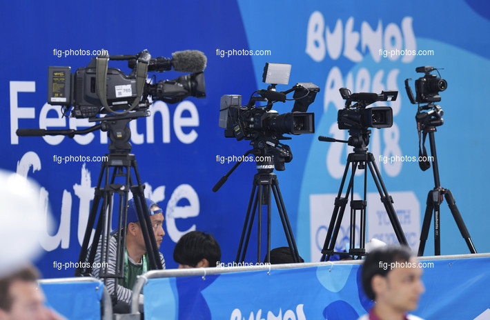 Youth Olympic Games Buenos Aires/ARG 2018: video production, cameras