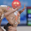 Youth Olympic Games Buenos Aires/ARG 2018: detail ball, KIM Mun Ye PRK