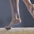 Youth Olympic Games Buenos Aires/ARG 2018: detail foot at beam