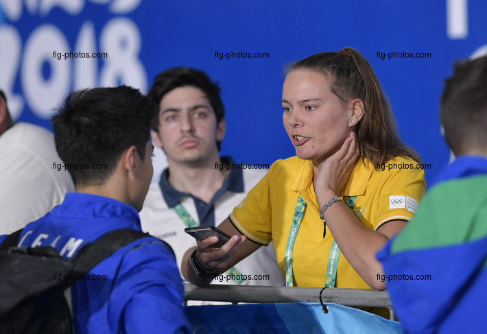 Youth Olympic Games Buenos Aires/ARG 2018: DEEN Lisa OIS