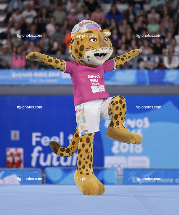Youth Olympic Games Buenos Aires/ARG 2018: mascot PANDI