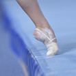 Youth Olympic Games Buenos Aires/ARG 2018: detail foot at flour