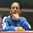 ART-WCh Doha/QAT 2018: Women's athletes meeting, CHUSOVITINA Oksana UZB