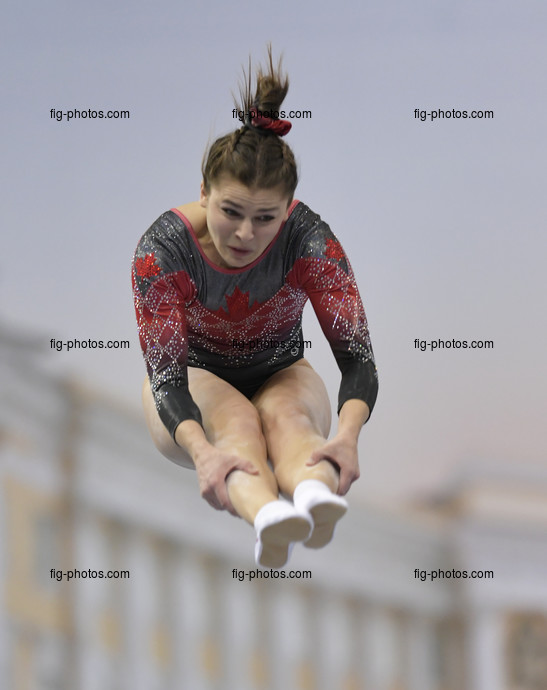 TRA WCh St. Petersburg/RUS 2018: FOREST Alexandra CAN