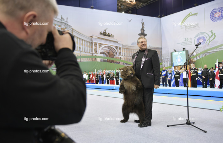 TRA WCh St. Petersburg/RUS 2018: opening ceremony
