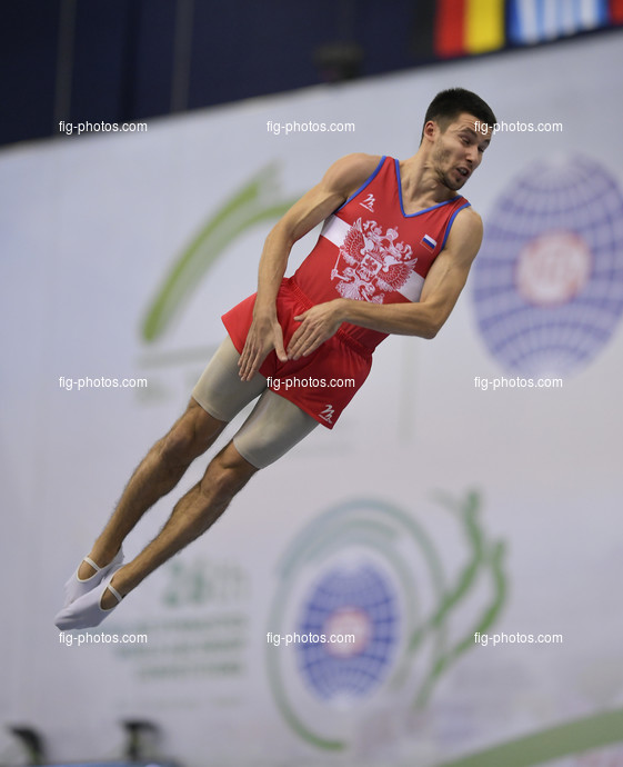 TRA WCh St. Petersburg/RUS 2018: ZALOMIN Mikhail RUS
