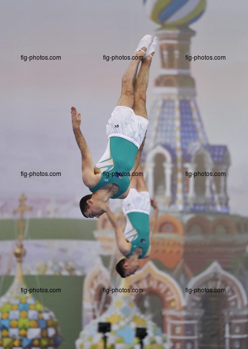 TRA WCh St. Petersburg/RUS 2018: SWADLING Ty CLARKE Dominic AUS2