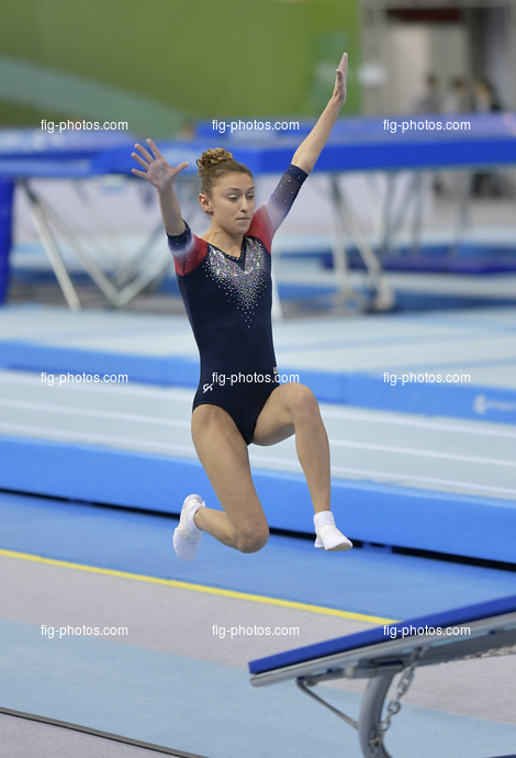 TRA WCh St. Petersburg/RUS 2018: LOWELL Kristle USA