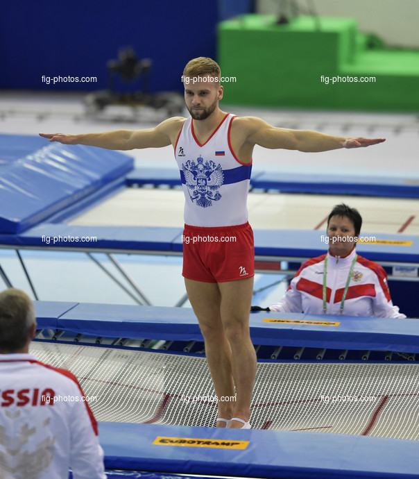 TRA WCh St. Petersburg/RUS 2018: YUDIN Andrey RUS